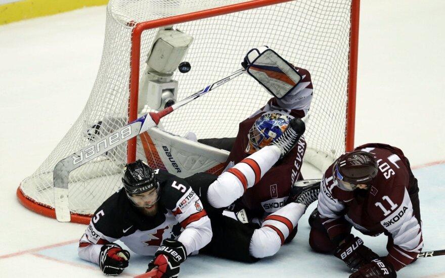 Sensacija pasaulio čempionate: Latvija išplėšė pratęsimą su Kanada