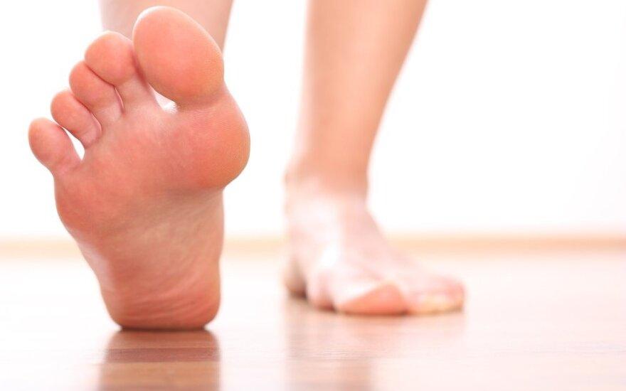Kaip sergantiems cukralige išvengti opų pėdose?