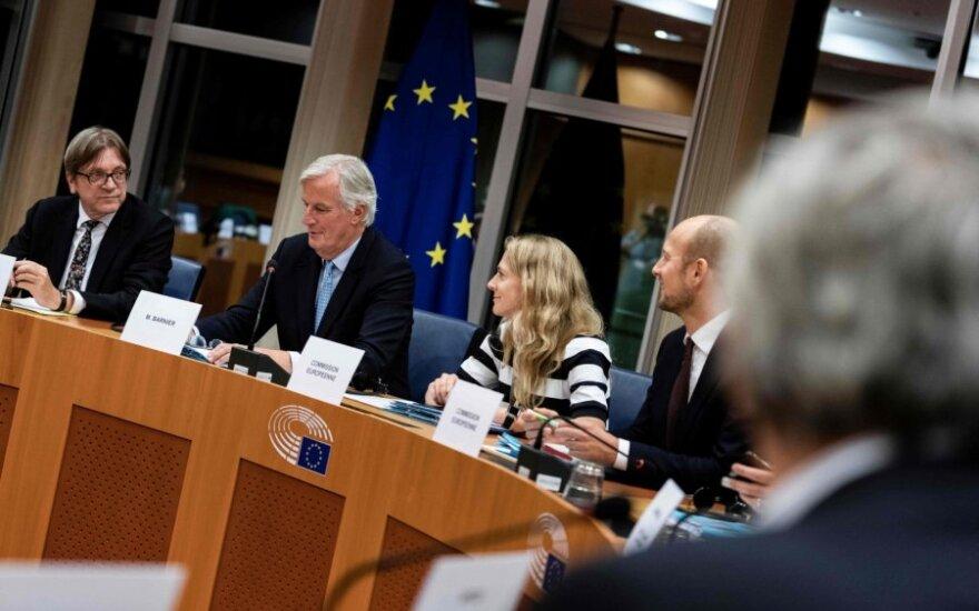Guy Verhofstadtas, Michelis Barnier