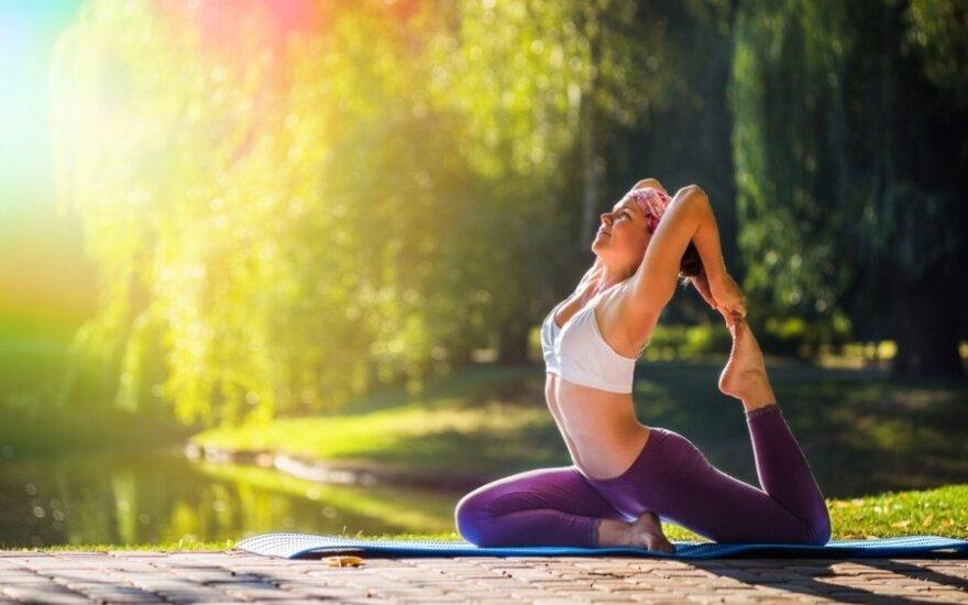 Jogos dienose - meditacija, ajurveda, žaliavalgystė ir rytų praktikos