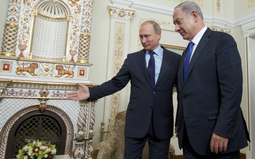 B. Netanyahu svarsto Maskvoje surengti Izraelio ir Palestinos derybas