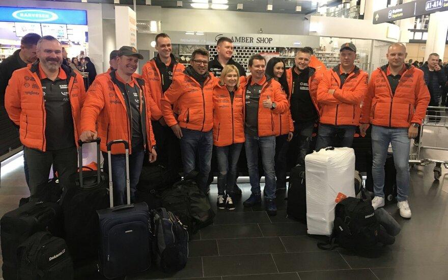 Į Dakarą išvykstantis Antanas Juknevičius: turiu palinkėjimą visiems lietuviams