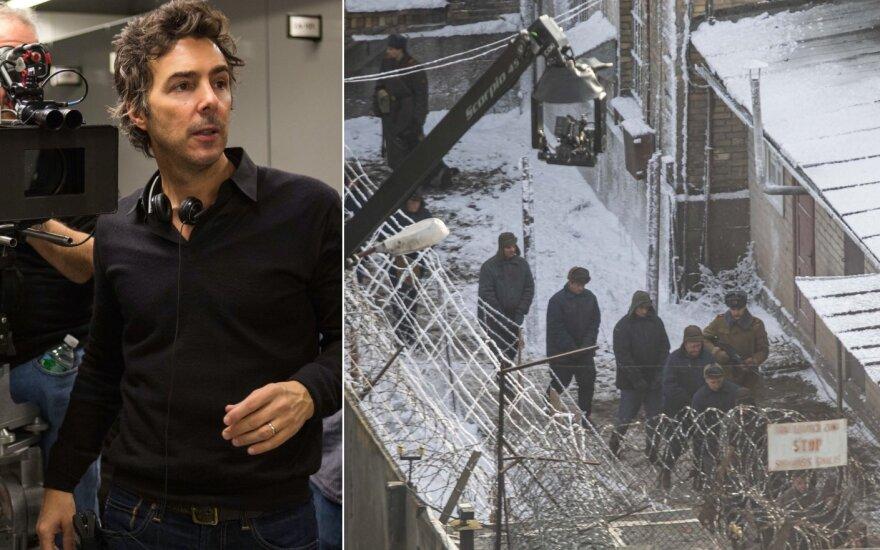 Shawn Levy ir filmavimai Lukiškių kalėjime /Delfi ir Vida Press nuotraukos
