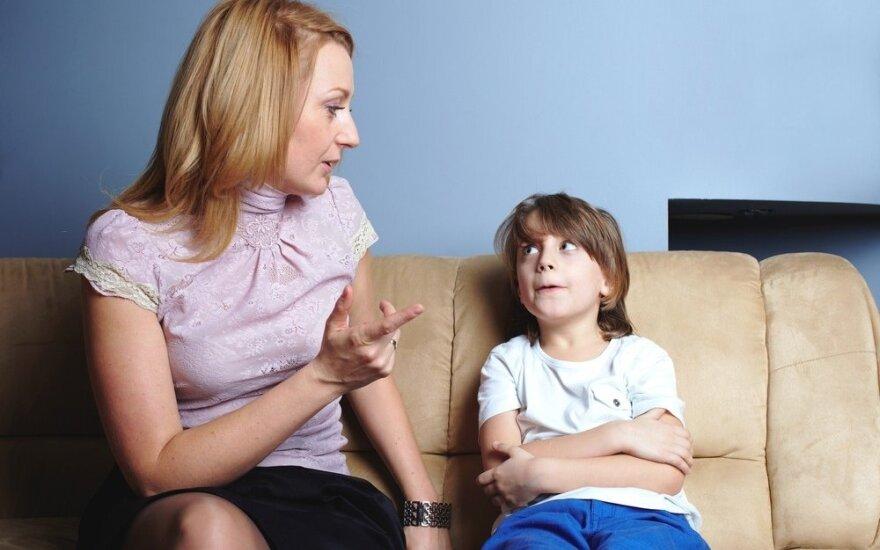 Psichologė: netinkamus vaikų įpročius ir elgesį galime pakeisti ir be bausmių