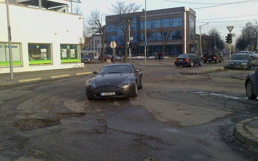 Kaune, Savanorių pr. 2013-03-05