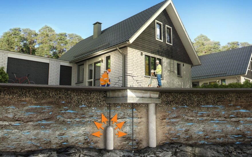 Staiga pradėjo skilti namo pamatas: tai gali būti ir statytojų, ir kaimynystės, ir jūsų pačių kaltė