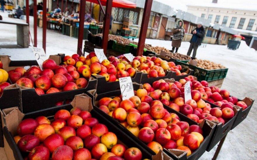 Du iš trijų obuolių - nelietuviški