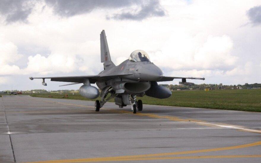 Portugalai perima Baltijos šalių oro apsaugą, juos pastiprins ispanai ir prancūzai