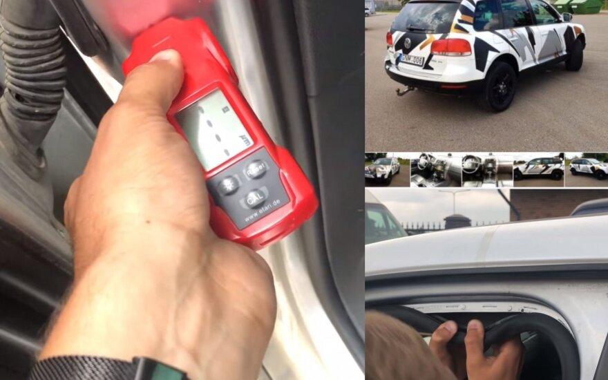 """Ukrainiečiai apžiūrėję Lietuvoje parduodamą """"Volkswagen Touareg"""" pašiurpo"""