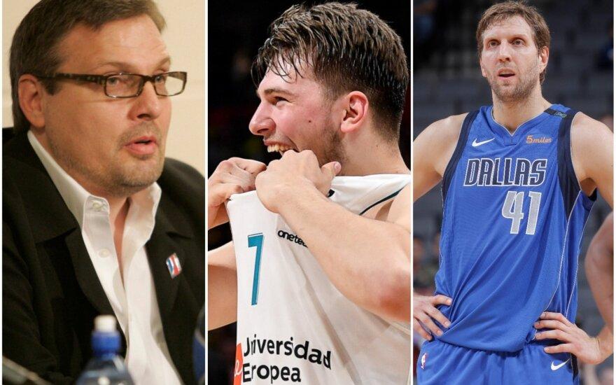 Donnie Nelsonas, Luka Dončičius, Dirkas Nowitzki