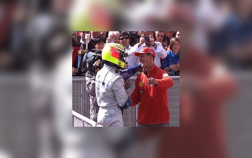 Ralfas ir Michaelis Schumacheriai
