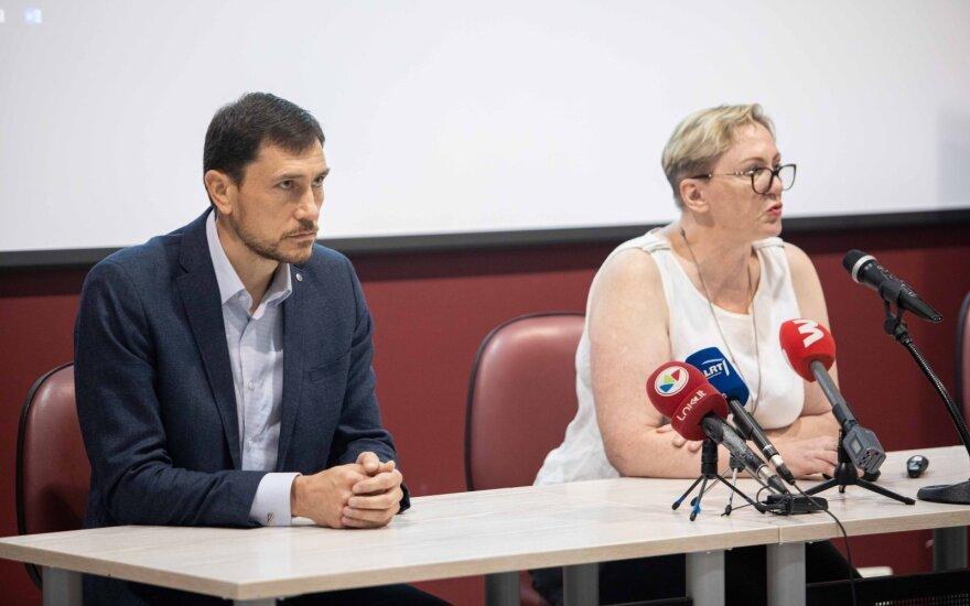 Evaldas Valeiša ir Daiva Gerulytė