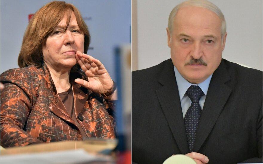 Sviatlana Aleksijevič, Aliaksandras Lukašenka