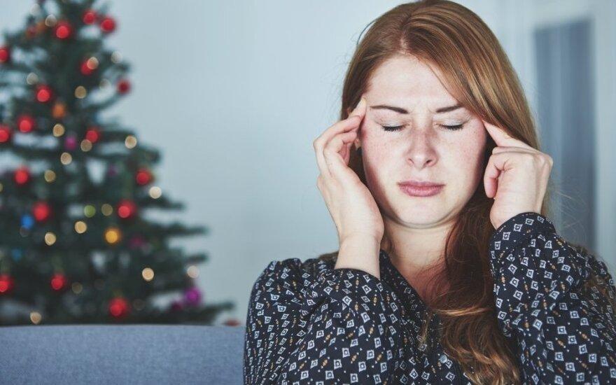 Atsargiai: per šventes suaktyvėja klastingi streso hormonai