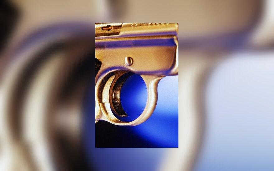 šauti, šautuvas, ginklas, gaidukas
