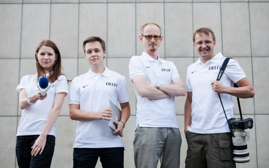 """Karšti DELFI žurnalistų įspūdžiai iš Europos krepšinio čempionato – """"Radiocentro"""" eteryje"""