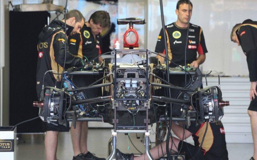 """Lotus"" komanda rengiasi Australijos GP etapui"