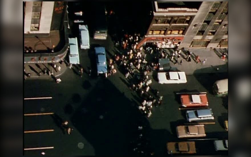 Kadras iš Jono Meko filmo