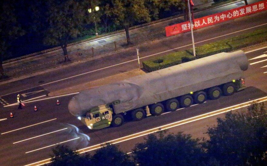 Milžiniškas Kinijos projektas – tik priedanga kariuomenei?
