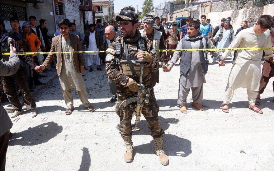 Mirtininko ataka Kabulo rinkėjų registravimo centre
