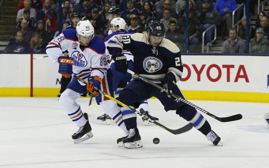 "NHL: ""Blue Jackets"" – ""Oilers"""