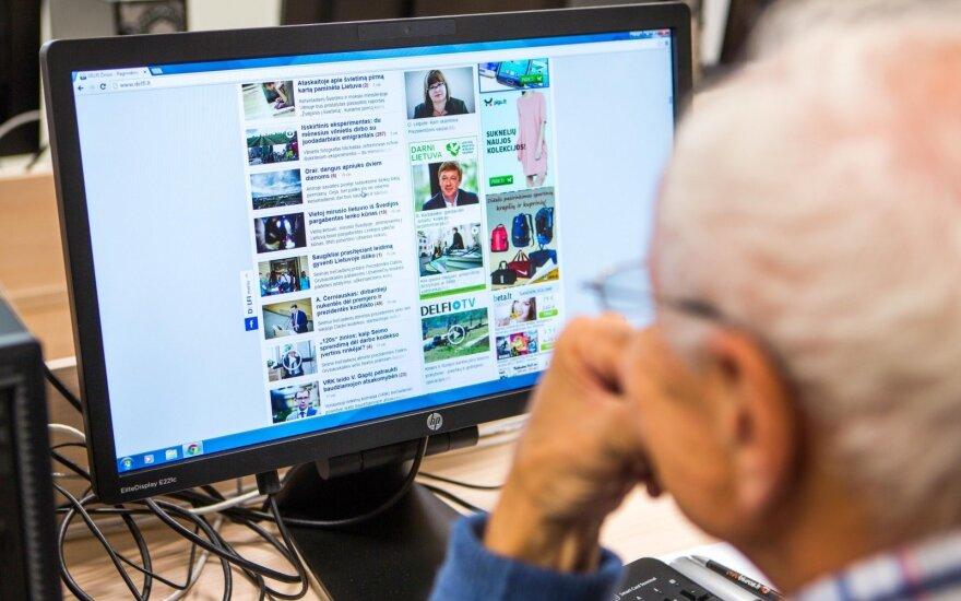 Nauja tendencija: senjorai įvaldė feisbuką ir tai turi reikšmingos įtakos senatvėje