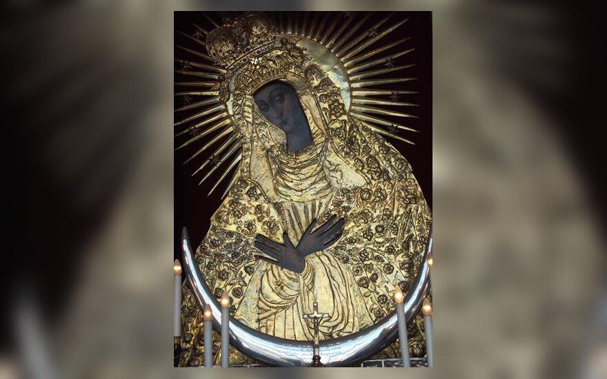 Aušros vartai, Šv. Mergelė Marija