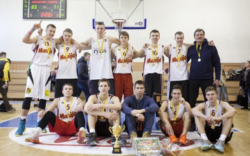 Karoliniškių gimnazijos krepšinio komanda