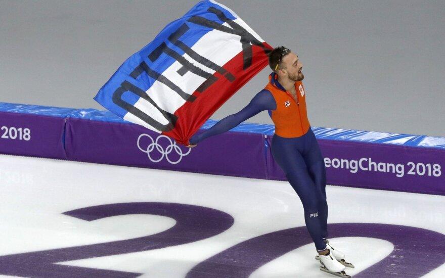 Olandas Nuisas laimėjo antrąjį aukso medalį