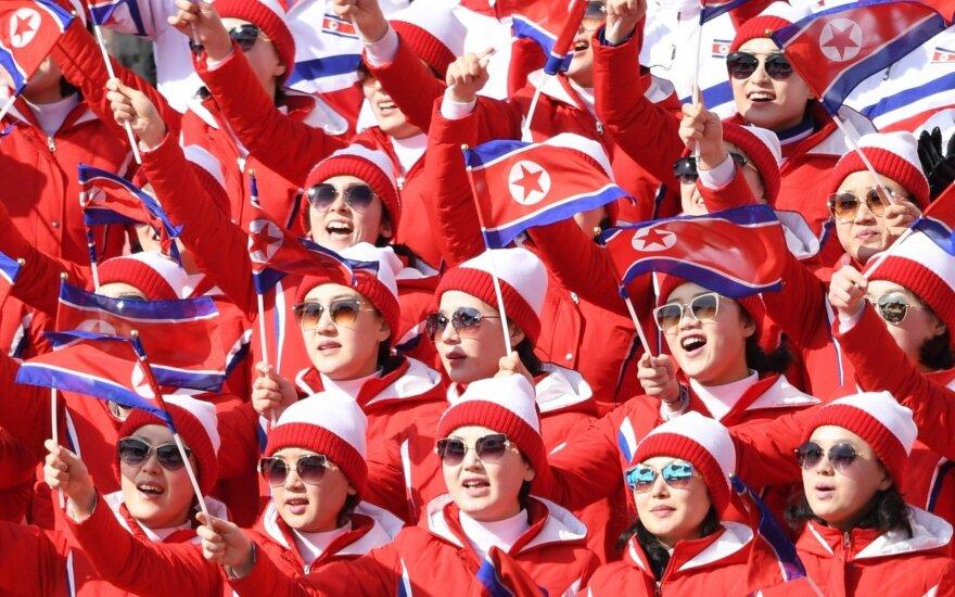 Šiaurės Korėja siųs atletus į Pjongčango žiemos parolimpines žaidynes