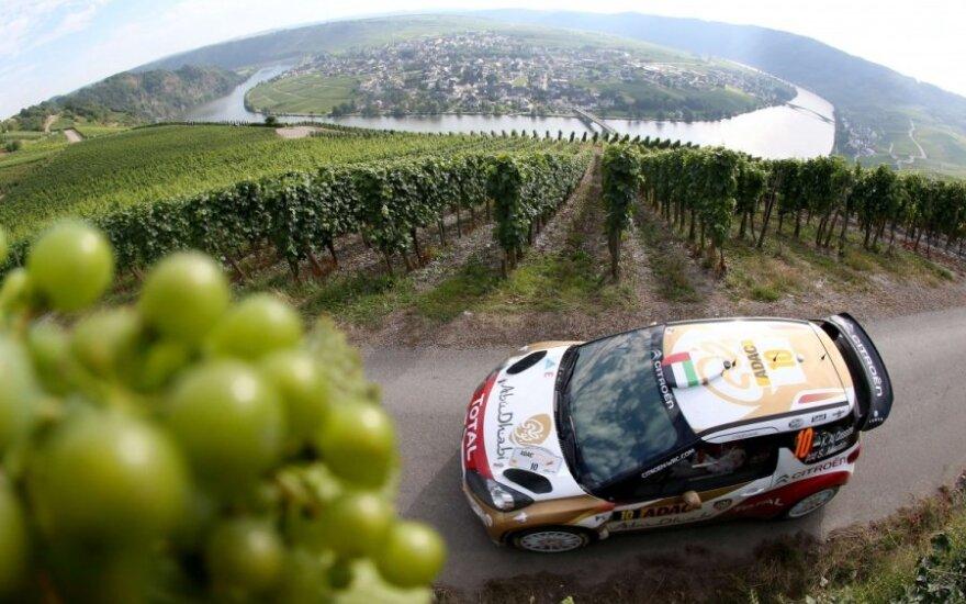 WRC ralis Vokietijoje