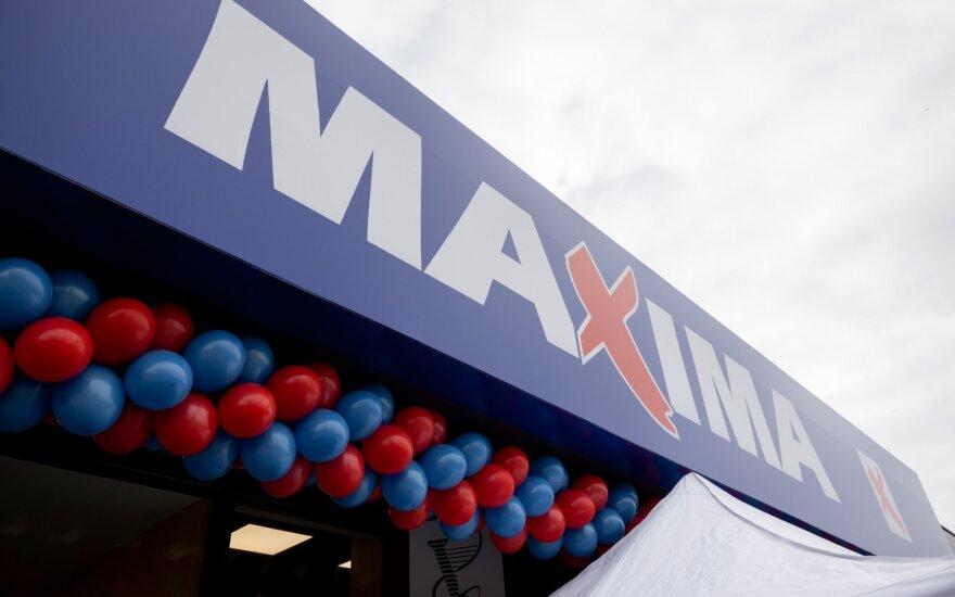"""Uždaroma """"Maxima"""" parduotuvė M. K. Čiurlionio gatvėje"""