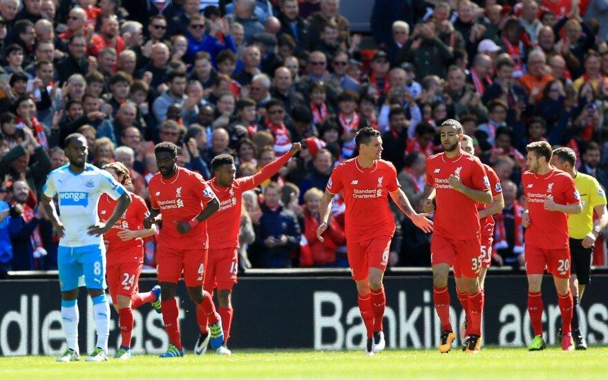 """Liverpool""  futbolininkai kovos pusfinalyje su ""Villarreal"" ekipa"