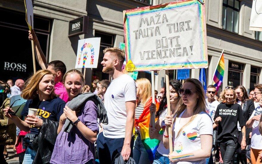 """""""Baltic Pride"""" 2018 eitynėse Rygoje dalyvavo ir lietuviai"""