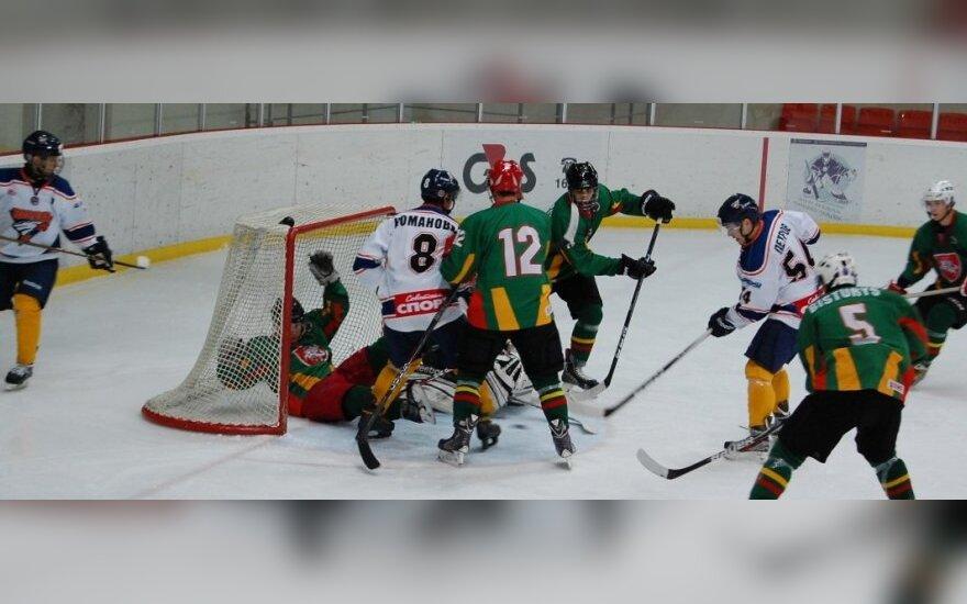 """Vilniaus HC """"Baltica"""" žaidžia su Lietuvos jaunimo rinktine"""