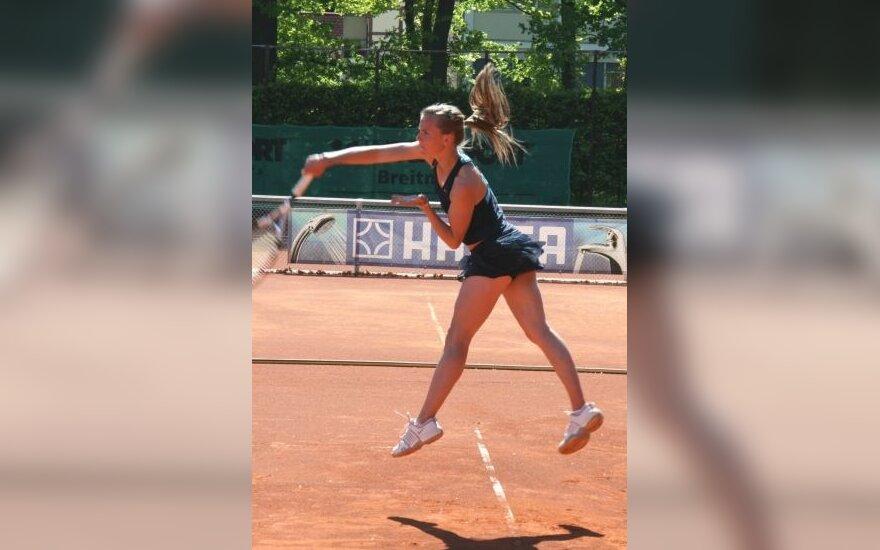 WTA ir ATP tenisininkų klasifikacijose lietuviai kyla aukštyn