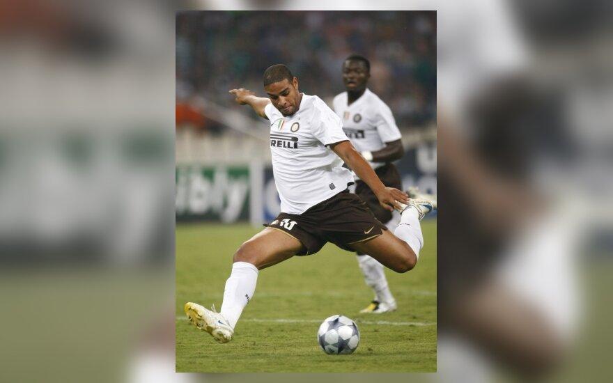 Bauda Adriano už praleistą treniruotę - 150 tūkst. eurų