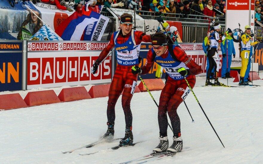 Lietuvos biatlonininkai
