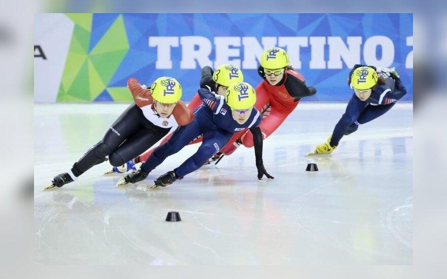 Greitasis čiuožimas trumpuoju taku (universiadetrentino.org)