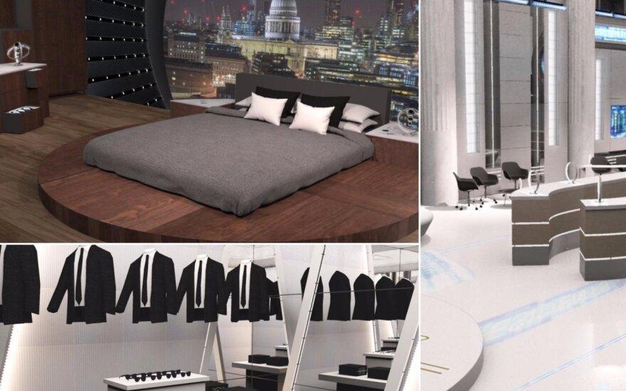 """Viešbutis """"Vyrai juodais drabužiais"""" gerbėjams /Foto: Booking.com"""