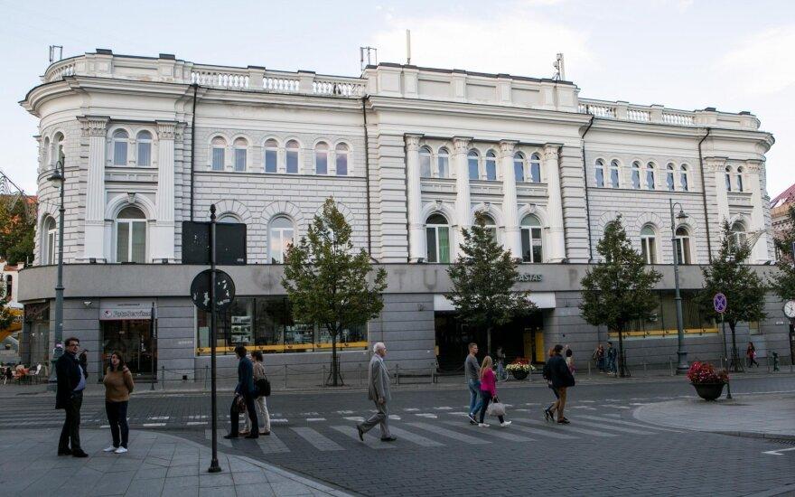 Vilniaus centrinio pašto pastatą ruošiamasi parduoti