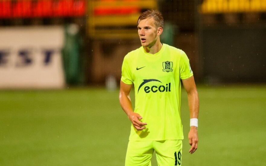 Vencevičius paskelbė Lietuvos U-21 futbolo rinktinės sudėtį