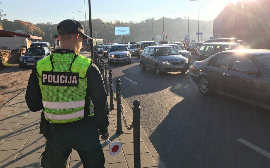 Kauno pareigūnai surengė netikėtą reidą