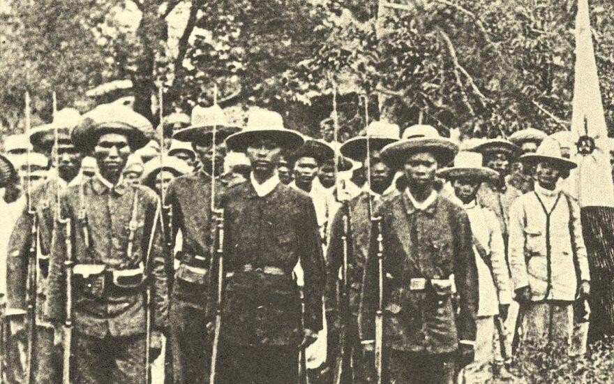 Filipiniečių kareiviai