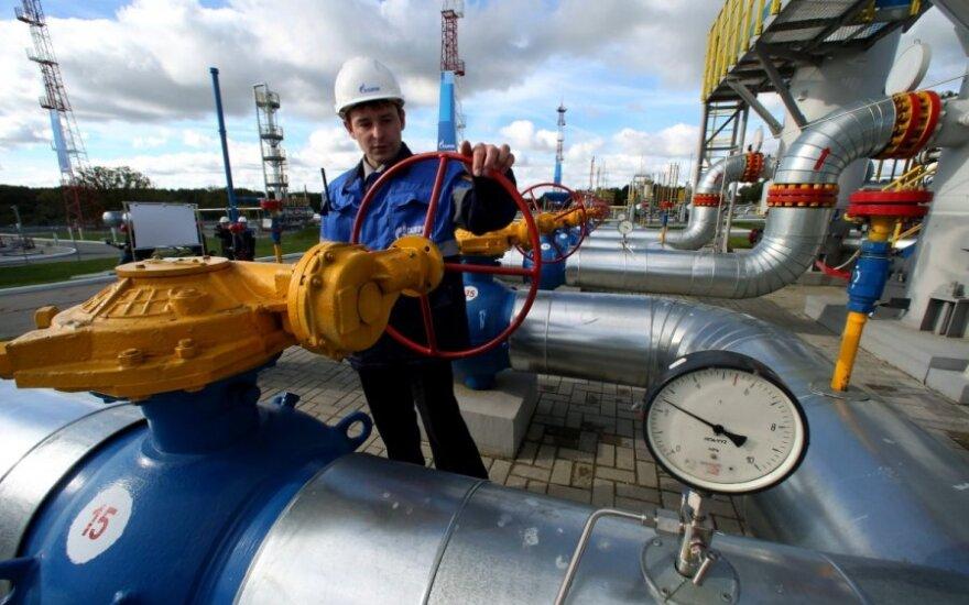 ES dėl dujų atsisuka į Rusiją