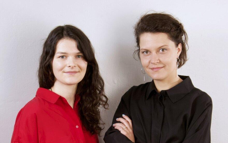 Ieva Vaitkevičiūtė ir Ieva Šapalaitė