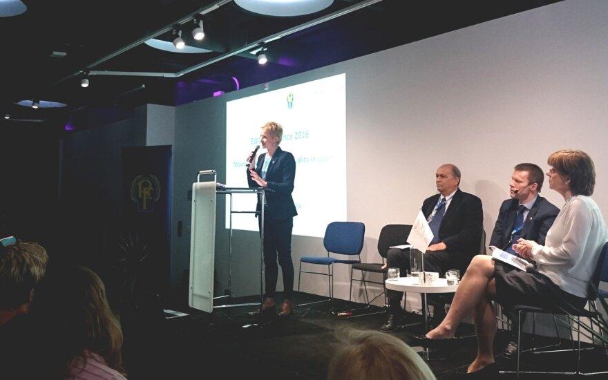 Vaida Masalskytė dalyvavo EWS konferencijoje Stokholme
