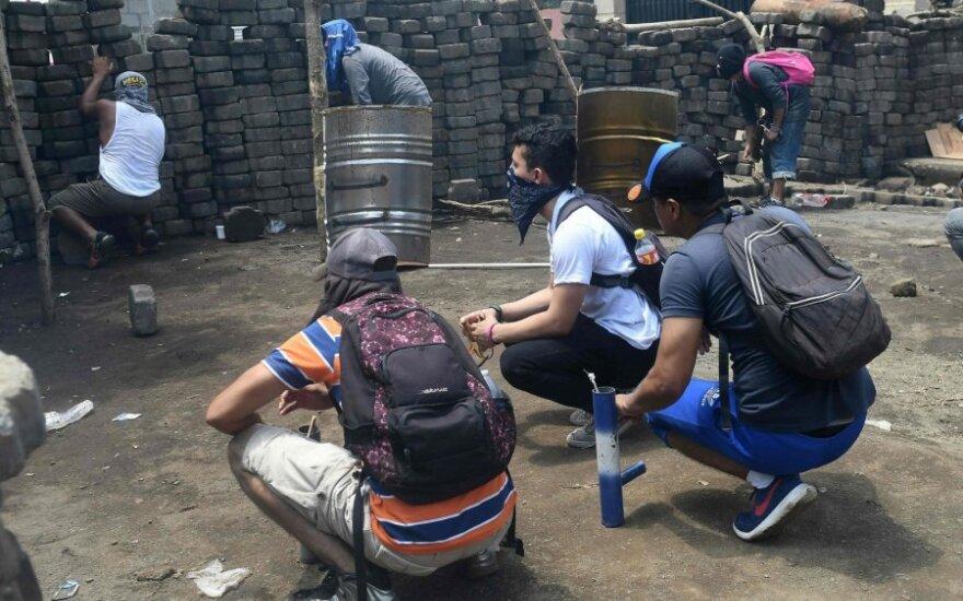 Protestai Nikaragvoje