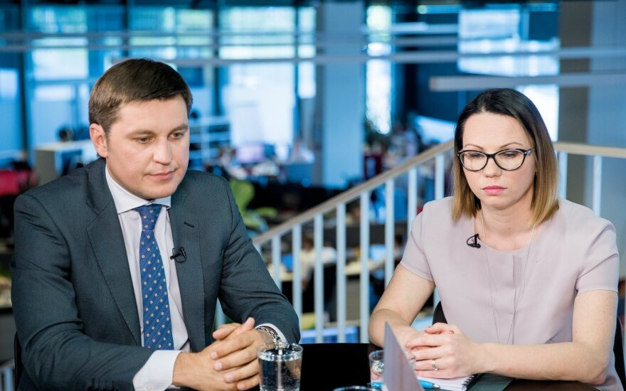 Nerijus Kasiliauskas ir Eglė Radišauskienė