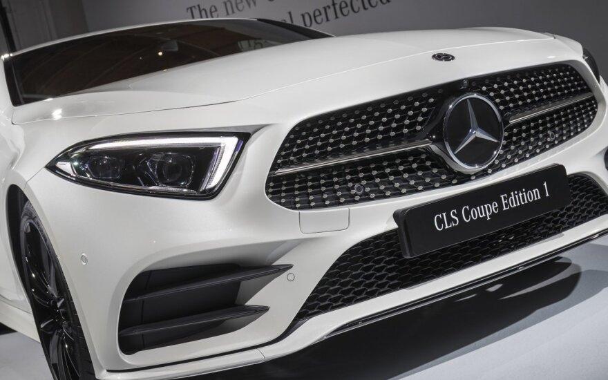 "Pristatytas trečios kartos ""Mercedes-Benz CLS"""